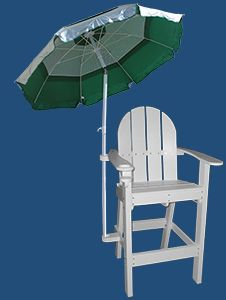Lifeguard Chair And Umbrella In 2019 Outdoor Life