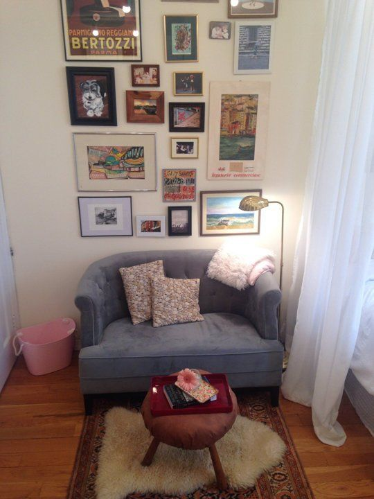 Jennifer S Shoebox Home Small Cool Apartment Therapy