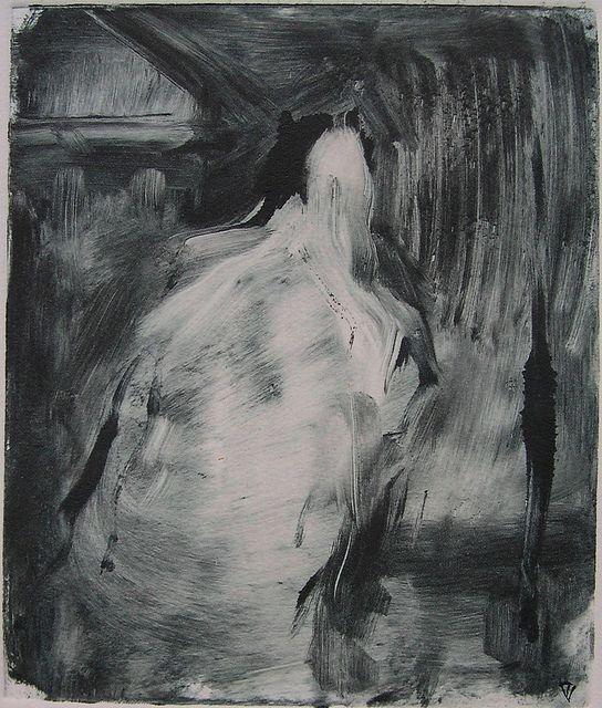 Valter Torjay | Ghost | Monotype | 2011