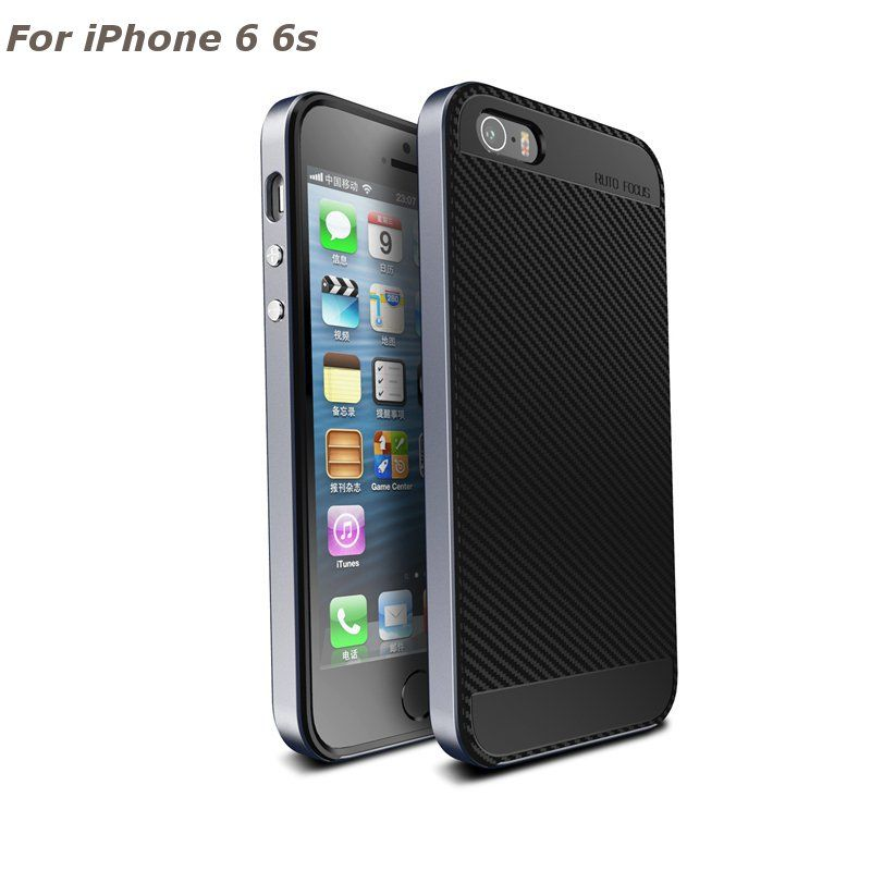 Designed for Apple iPhone 6//6s 4.7 Inch iPhone 6 iPhone 6s Case Acrylic PC Back Cover TPU Silicone 2 in 1