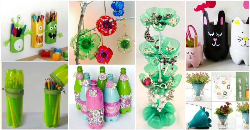 15+ Awesome DIY Plastic Bottles Crafts   uncycled   Diy