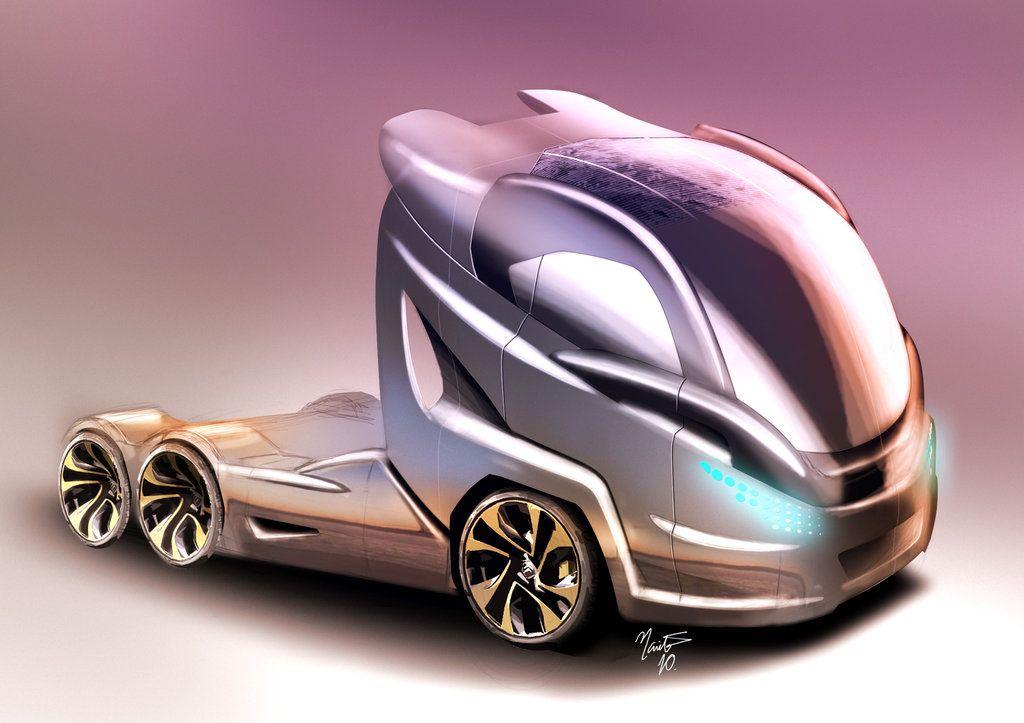 Concept Truck By ~thnarita On DeviantART