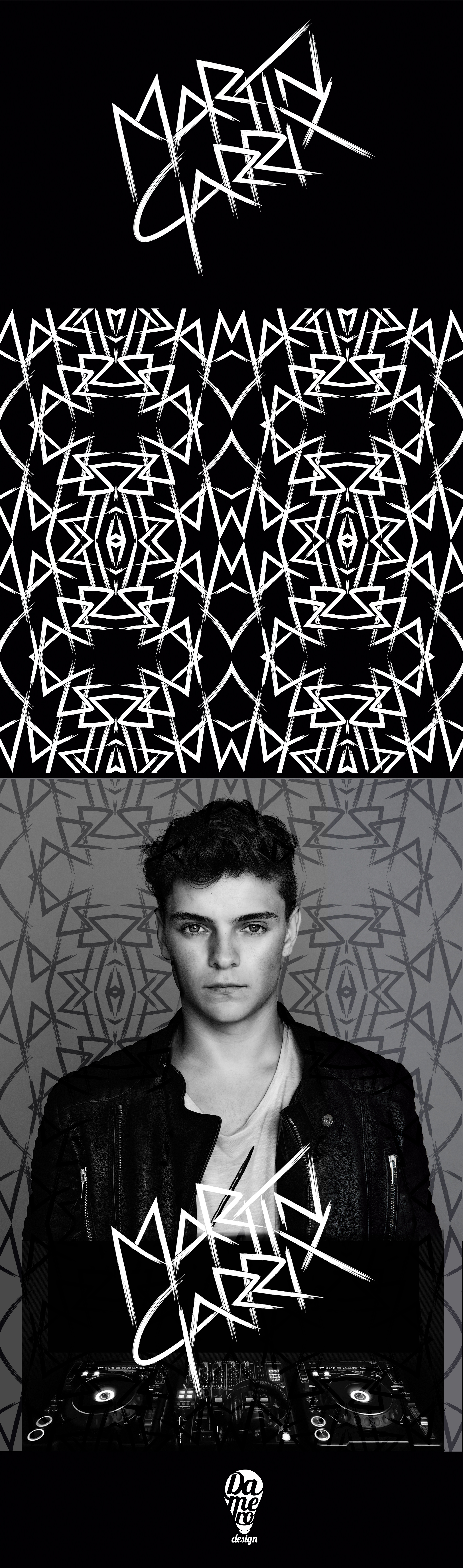 New Martin Garrix S Logo And Pattern Application By Damerodesign Martin Garrix Martin Martin Garrix Show