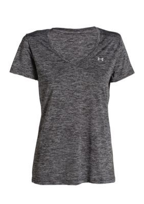 Under Armour Black Womens Twisted Tech V Neck Armours And Products