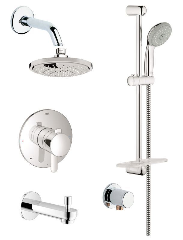 Buy the Grohe GSS-Europlus-TPB-06-000 Starlight Chrome Direct. Shop ...