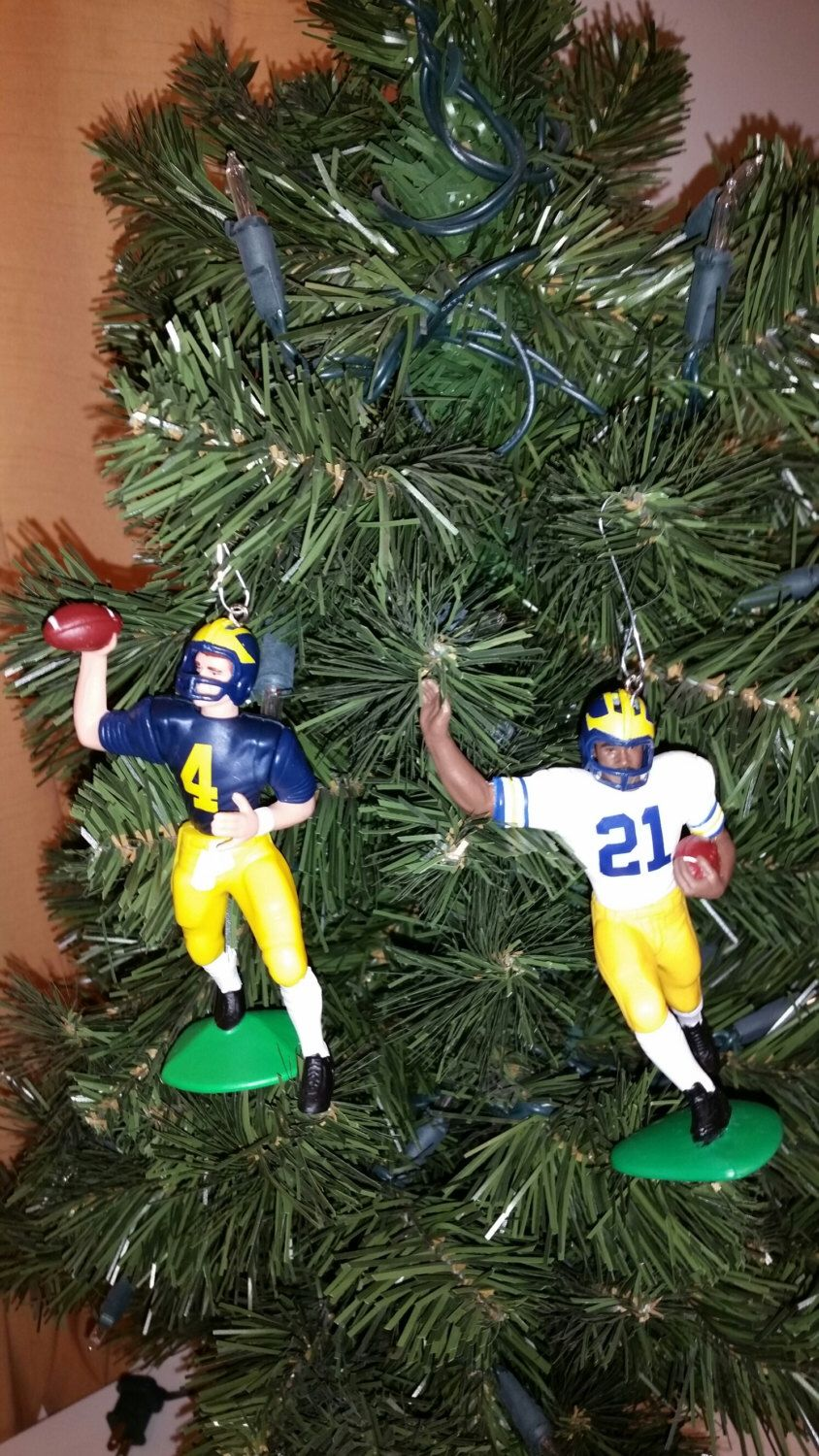 University of michigan christmas ornaments - Jim Harbaugh University Of Michigan Football Sports Christmas Ornament Many To Choose