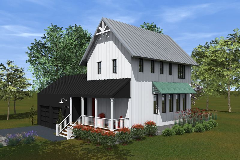 Traditional Style House Plan 3 Beds 2 5 Baths 1706 Sq Ft Plan 933 2 Modern Farmhouse Plans Unique Farmhouse Plans Farmhouse Style House