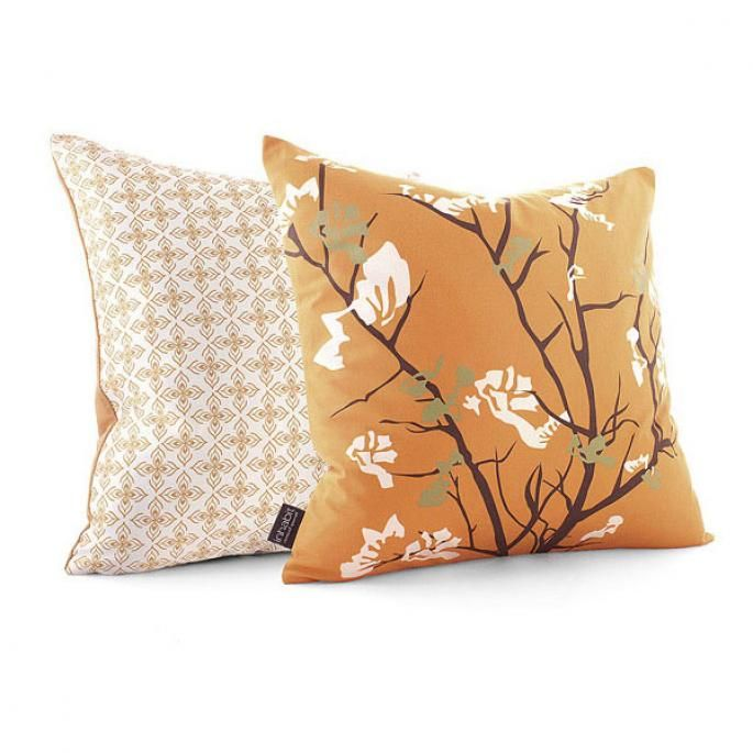 Inhabit Bedding ailanthus in sunshine pillow - your source for inhabit products