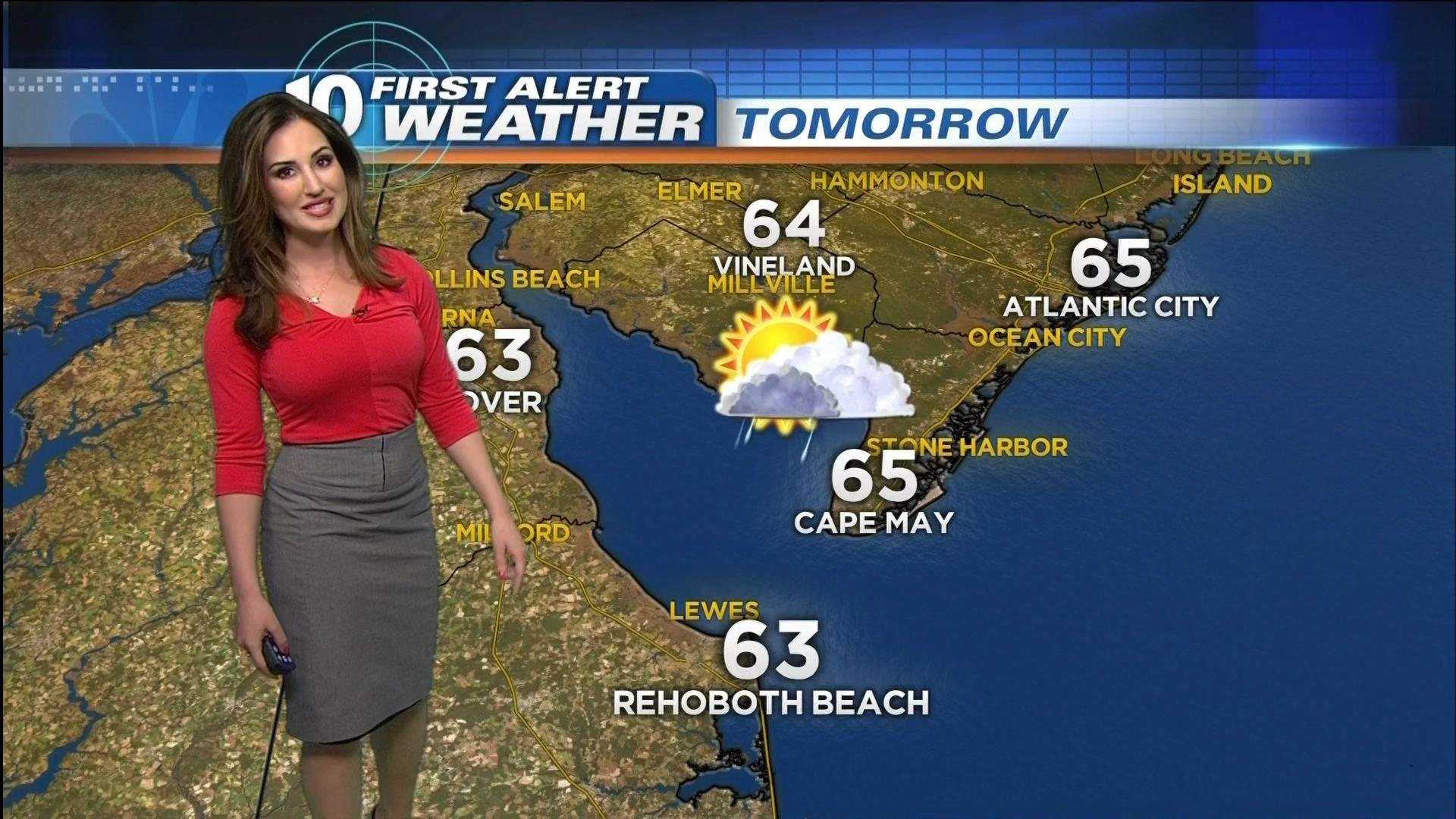 Lucy Verasamy Weather Girls