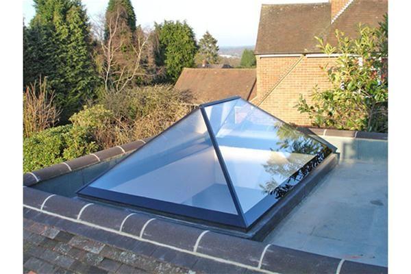 Skirtings Edwardian Dachfenster Glasdach Laterne