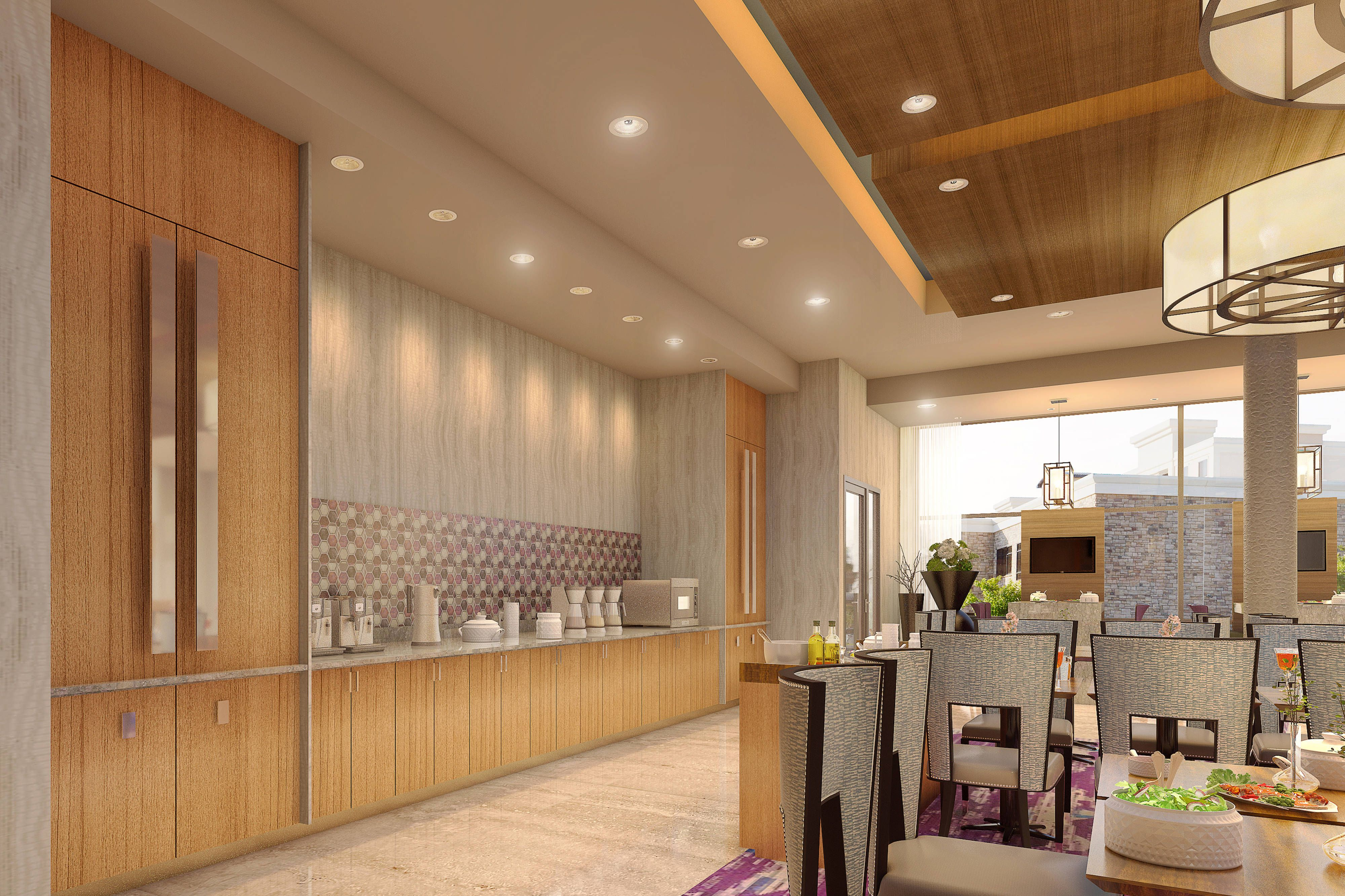 Springhill Suites Fayetteville Fort Bragg Dining Area Rooms