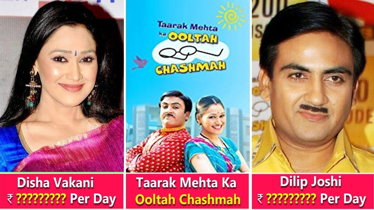 "Taarak Mehta Ka Ooltah Chashmah"" Actors Salary Dilip Joshi, Disha"