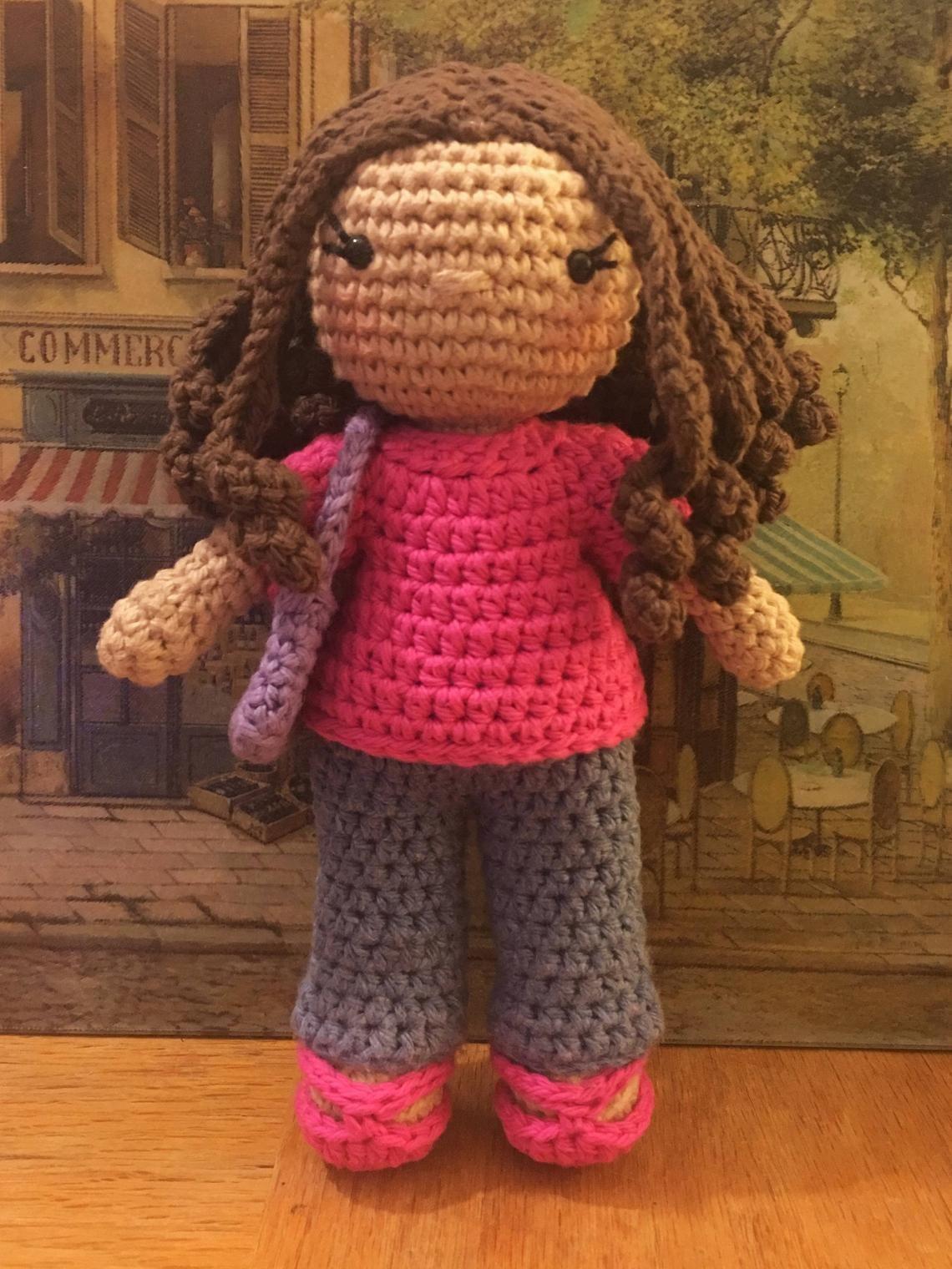 Hailey Doll amigurumi dress up doll crochet pattern with 3   Etsy   1520x1140