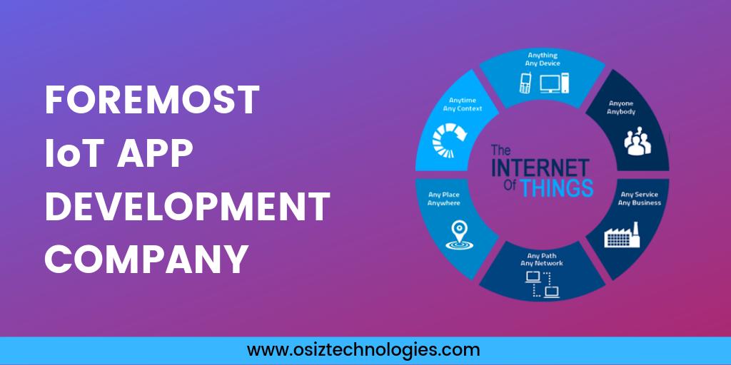 Foremost IoT App Development Company App development