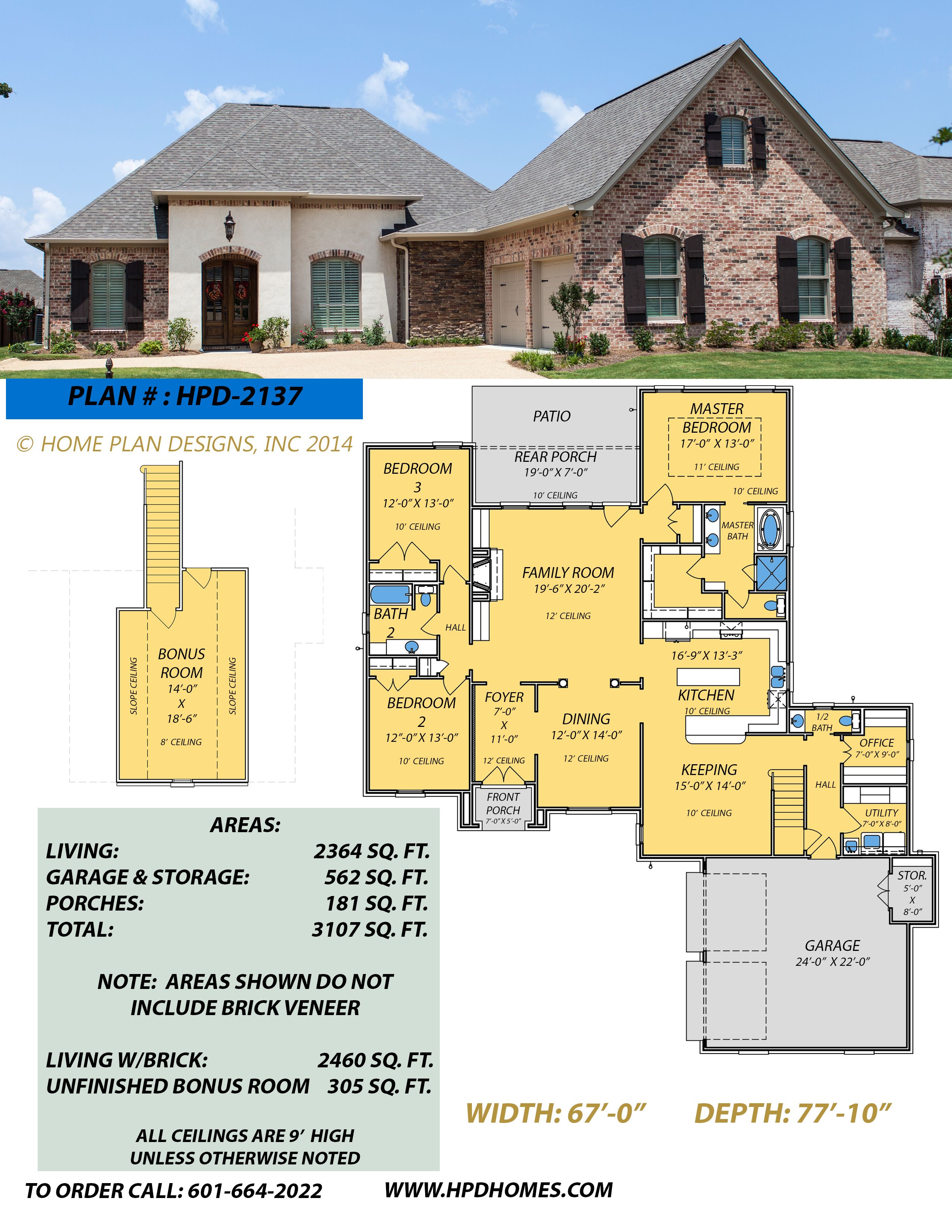 Home Plan Designs Www.hpdhomes.com Judson Wallace 601-664