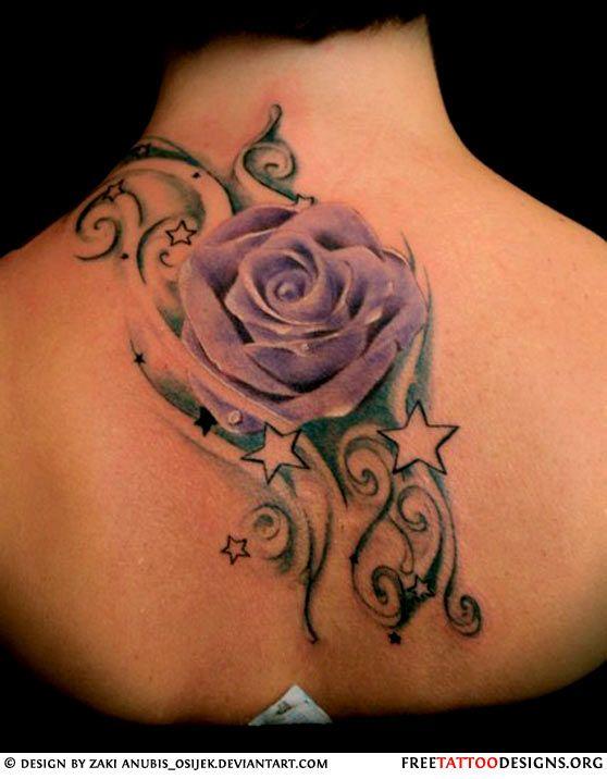 50 Rose Tattoos Meaning Purple Rose Tattoos Purple Tattoos Tattoos