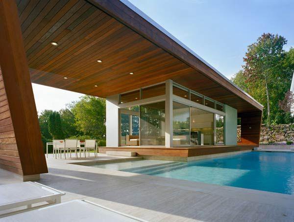 Beautiful Pool House Modern Pool House Pool Houses Modern Pools