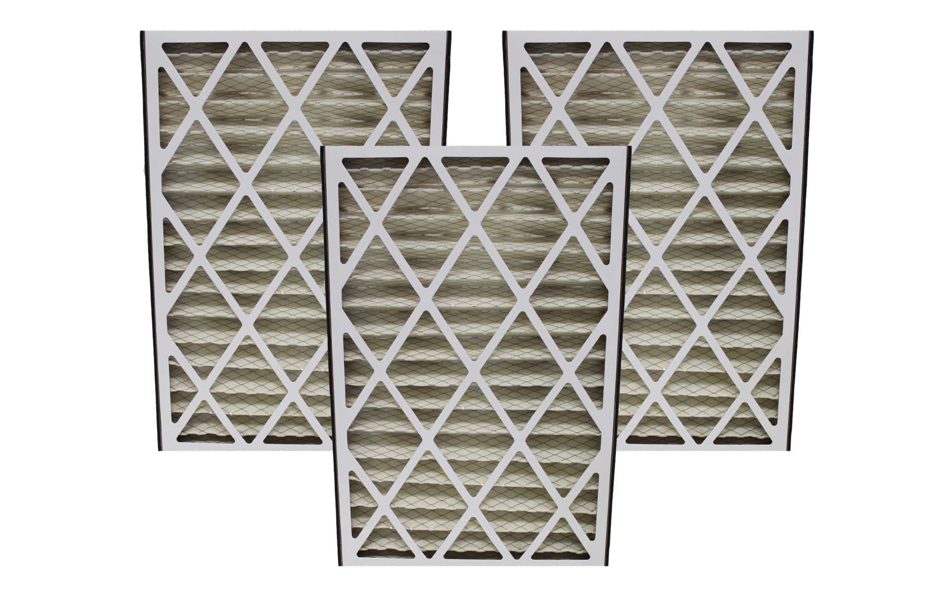 Crucial Air Replacement Air Filters Pleated Furnace Filter