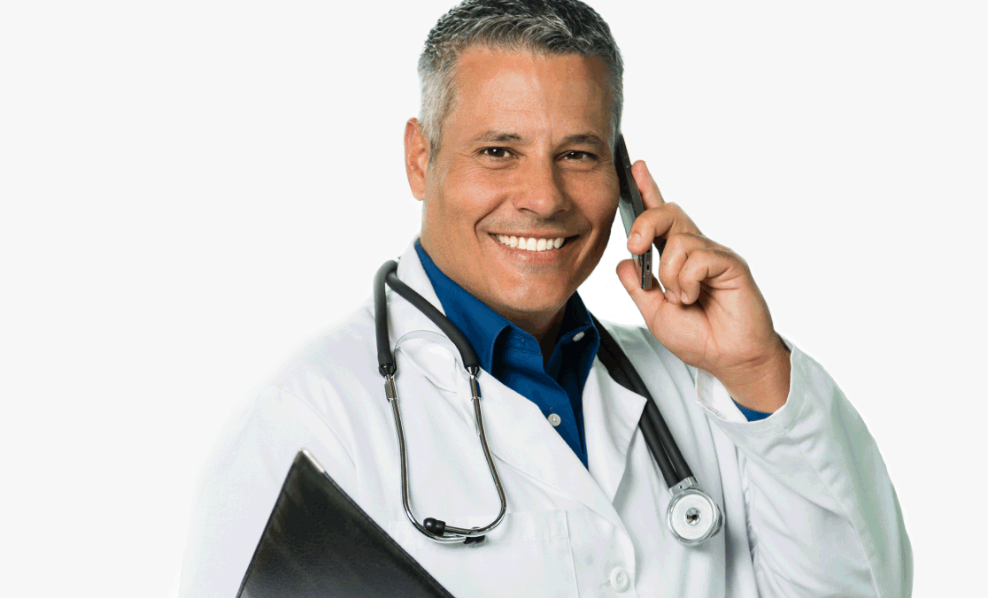 Skip the urgent care & connect 24/7 to a nationwide