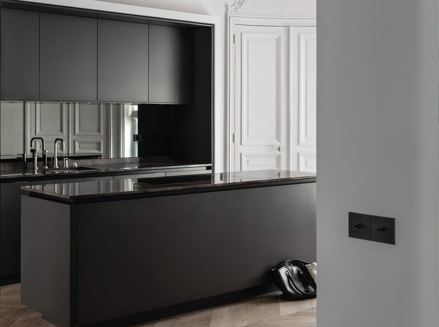 Siematic  new veneers increased design options for open plan ...