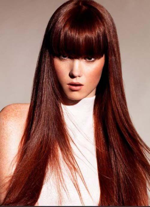 A Chestnut Hair Color With Highlights Chestnut Hair Hair Coloring