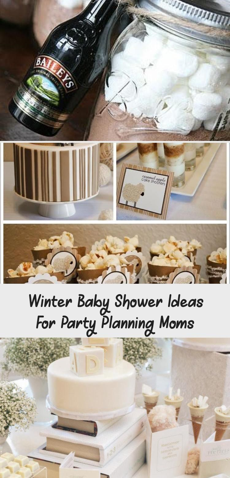 Winter Baby Shower Ideas For Party Planning Moms - health and diet fitness -  white dessert table –...