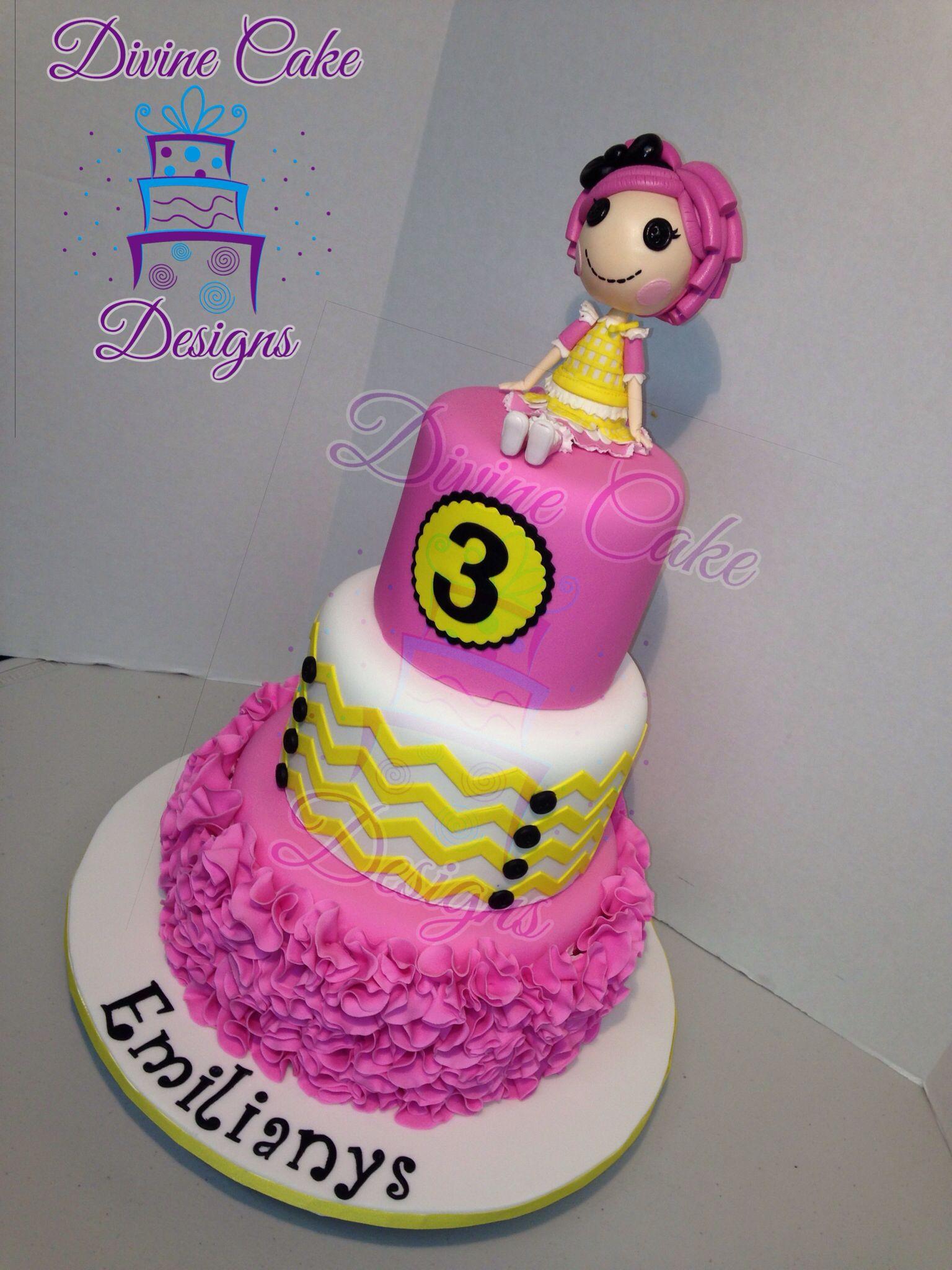 Lalaloopsy Cake With Images Birthday Cake Kids Cake Designs Cake