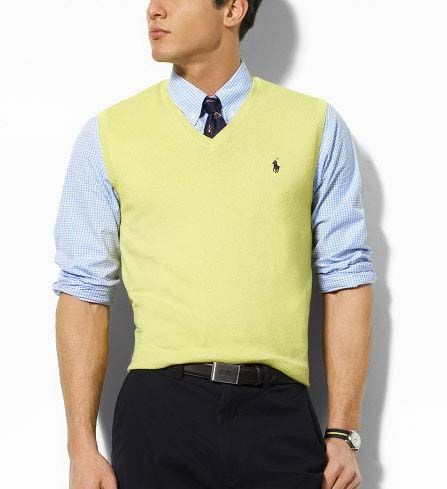 Ralph Lauren Pima Cotton Sweater Vest, Sale of US$8.00/pc ...
