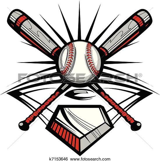baseball or softball crossed bats w clip art pinterest softball rh pinterest com crossed baseball bats clipart Crossed Bats Logo