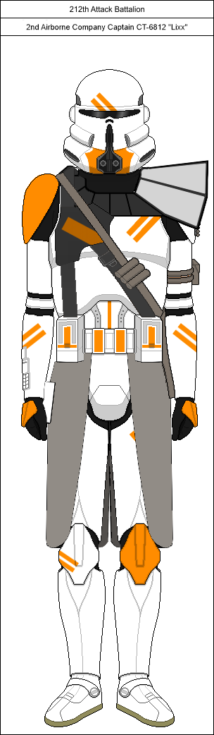 Clone Trooper 212th Attack Battalion By Luca9108 On Deviantart Star Wars Pictures Star Wars Images Star Wars Poster