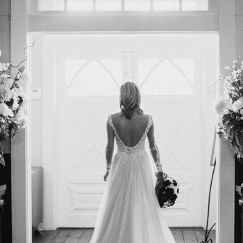 Bridal Portrait At Tybee Island Wedding Chapel