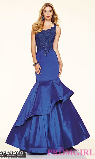 Mori Lee One Shoulder Mermaid Prom Dress At Promgirl Prom