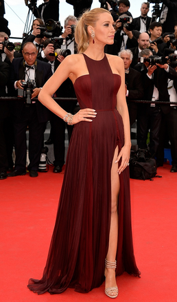 Blake Lively in Gucci at Cannes for the Grace of Monaco premiere