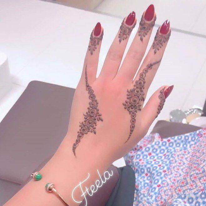 للي يحبون النقش الناعم والخفيف حناء حنتي حنه حناي حنايات حنايه نقش نقوش نقوش ح Henna Tattoo Designs Simple Henna Tattoo Designs Henna Tattoo Hand