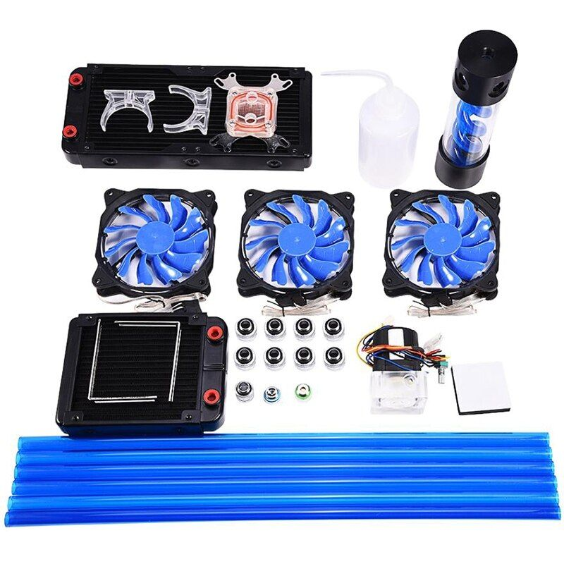Wholesale Diy 120 240mm Heat Sink Cpu Water Block Pump Reservoir