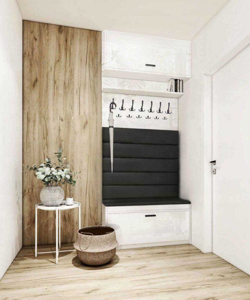 Nowoczesny Przedpokoj Porady I Inspiracje Aranzacje 2020 Furniture Design Home Entrance Decor Hall Interior Design