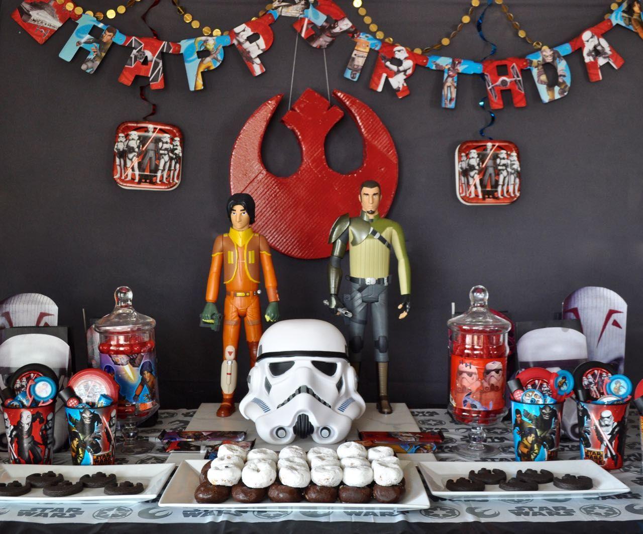 Star Wars Rebels Party Star wars birthday, Birthday