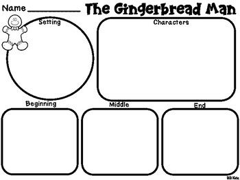 The Gingerbread Man and The Gingerbread Girl Activities