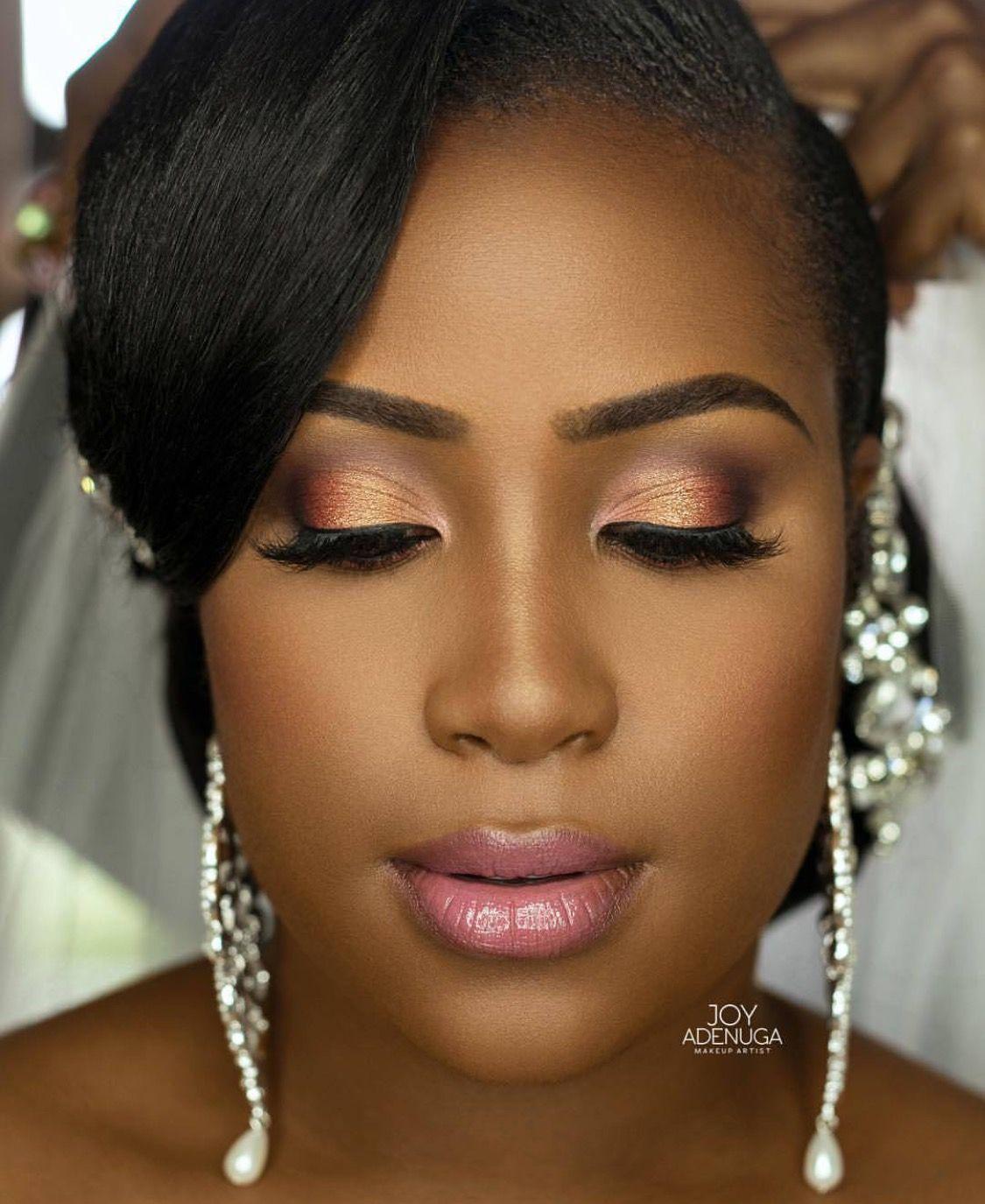 Makeup for black women Makeup for black women, Casual makeup