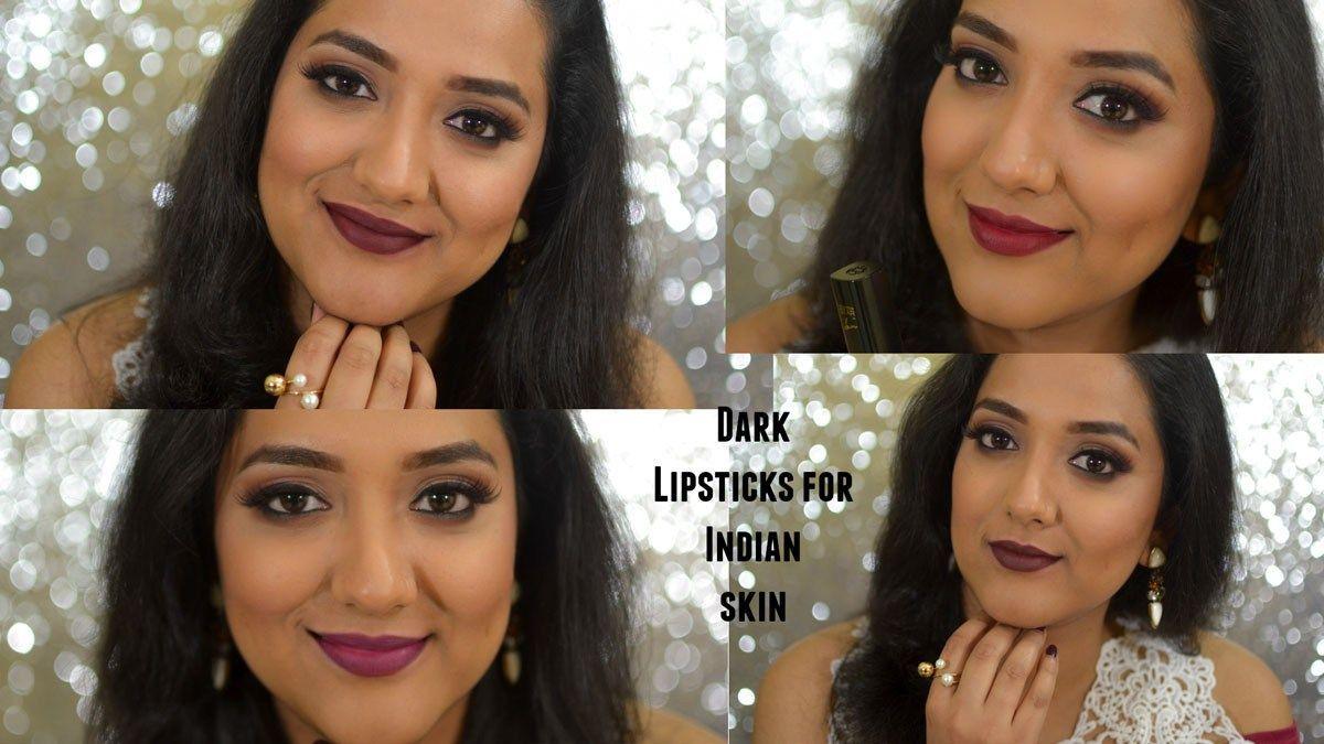 7 Dark Lipsticks For Indian Skin Tone Medium Dark Skin Tan Brown