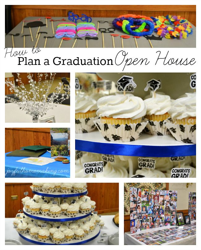 How to Plan An Open House | Graduation open houses, Open house and House