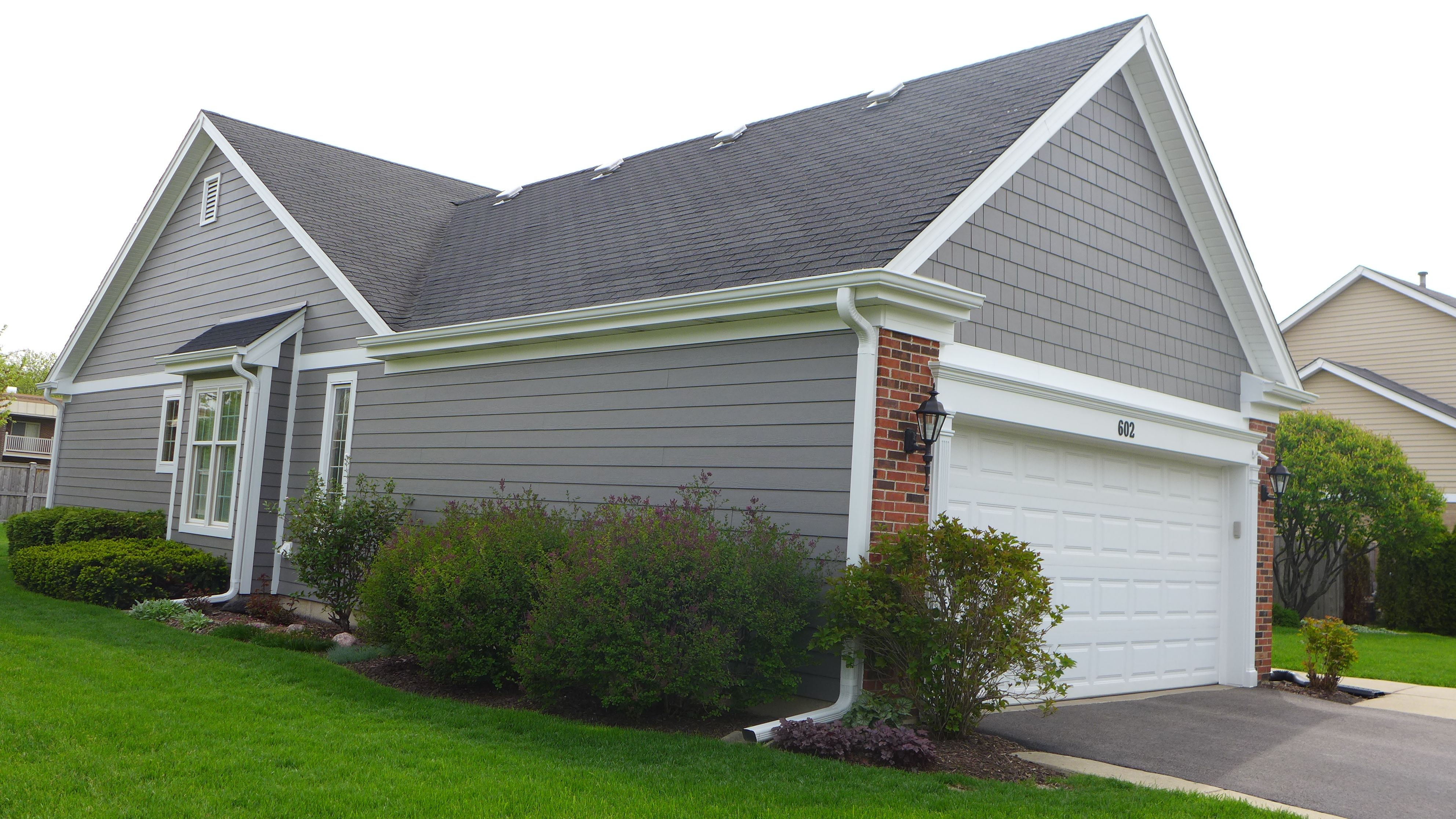 House colors on pinterest paint colors craftsman and james hardie - James Hardie Siding In Aged Pewter