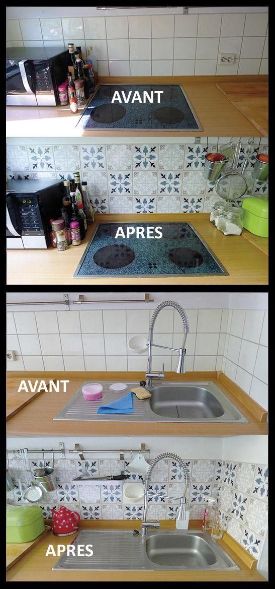 renovation réussi avec AdrCarreaux pour les #carreaux #muraux de - couleur cuisine avec carrelage beige