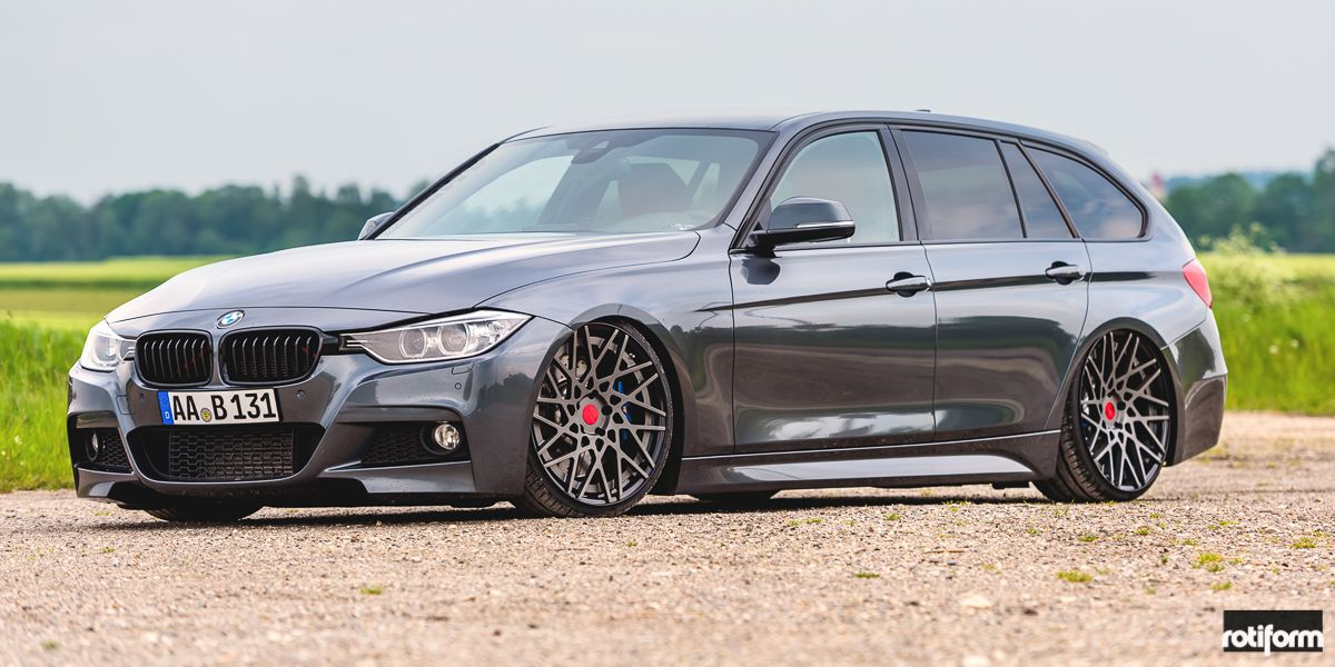 Bmw 3 Series Wagon Blq T Gallery Rotiform Wheels With Images