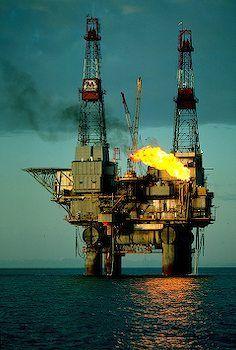 Off Shore Oil Rig I Alaska Travel Photos Oil Rig Oil Platform Drilling Rig