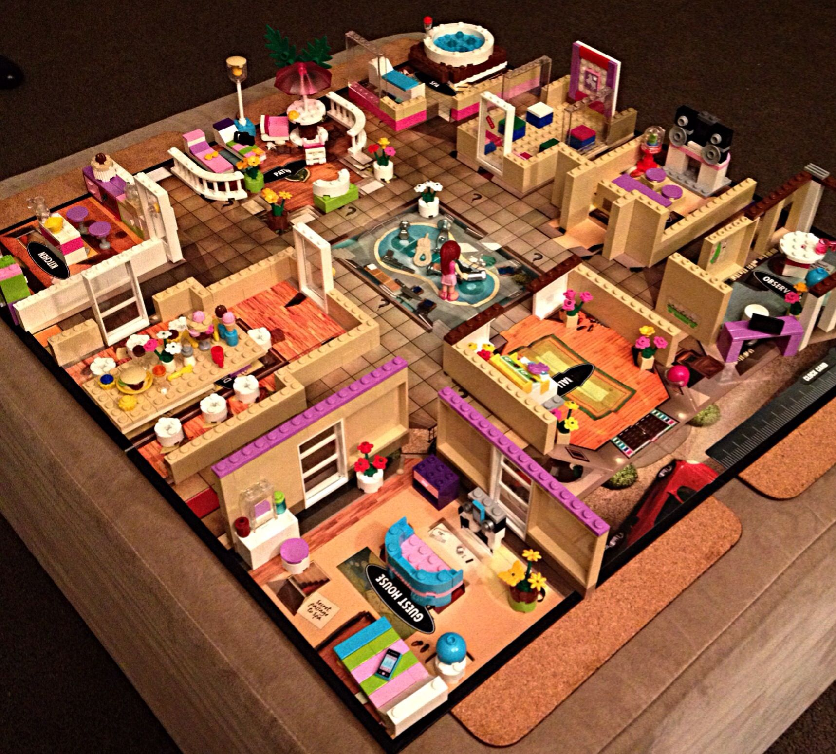 3D lego Clue, really need to make one of these! Lego