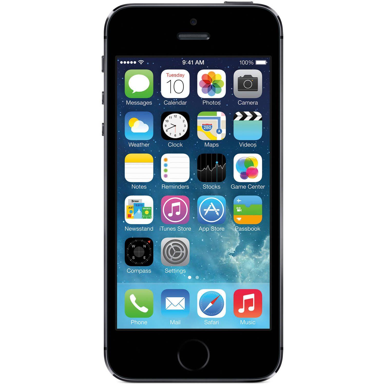 Straight Talk Apple iPhone 5S 16GB 4G LTE Prepaid