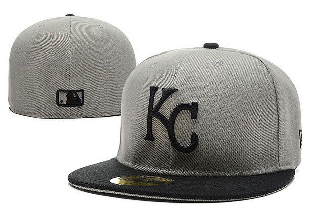 the latest 062ad de0db Cheap Wholesale MLB Kansas City Royals 59Fifty Hats Retro Classic Pop Caps  Gray for slae at US 8.90  snapbackhats  snapbacks  hiphop  popular   hiphocap ...