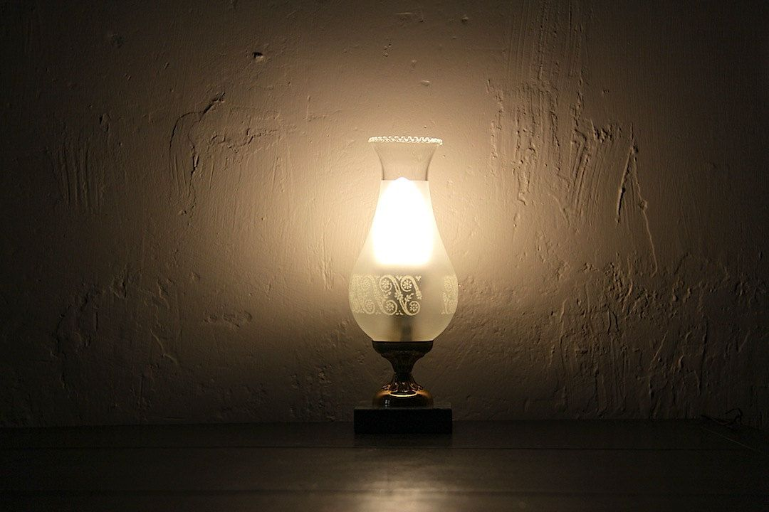 French Table Lamp Electric Lantern Electric Oil Lamp (35.00 EUR) by maintenant