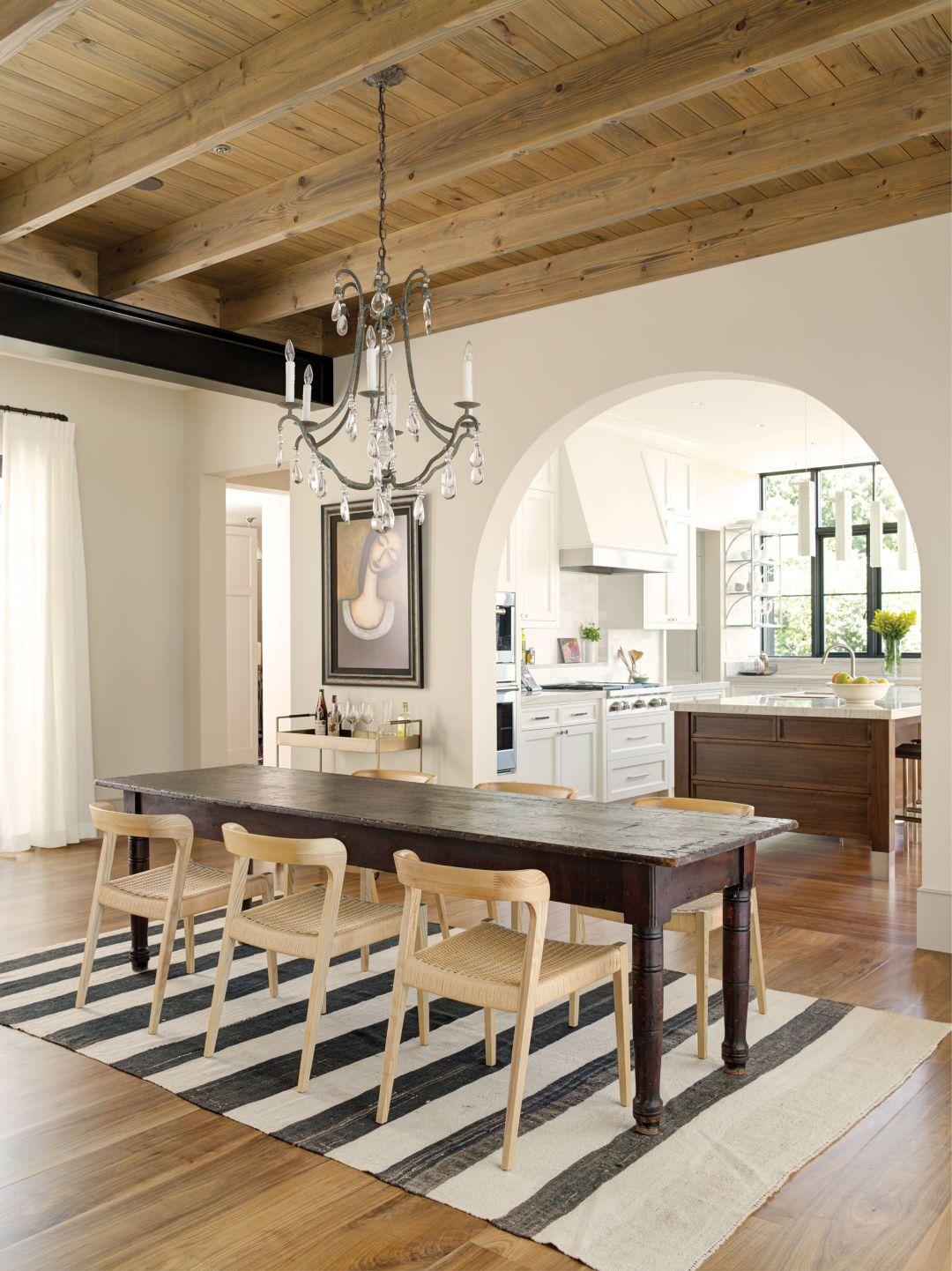 This Lake Washington Home Belongs On The Mediterranean Tuscan Kitchen Kitchen Flooring Walnut Floors